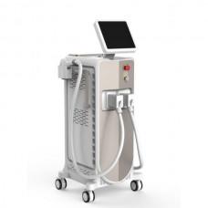 Das Gerät für Laser-Haarentfernung und D-LAS 90-Verjüngungsverfahren