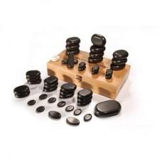 Basaltsteine-Sortiment für die Stone-Therapie UMS-45TC2 foto