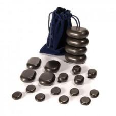 Basaltsteine-Sortiment für die Stone-Therapie UMS-20TC 20 ST. foto