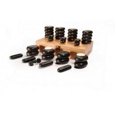 Basaltsteine-Sortiment für die Stone-Therapie UMS-40TC 40 ST. foto